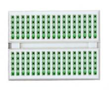 Breadboardi sisemised ühendused rohelisega